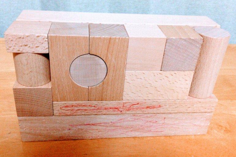 小さな大工さんの積み木 基尺
