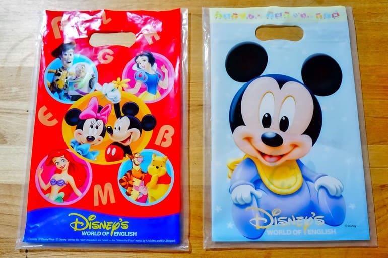 ディズニー英語システム サンプル袋