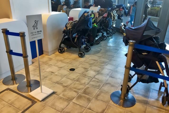 鉄道博物館(てっぱく)ベビーカー置き場 - プラレールゾーン