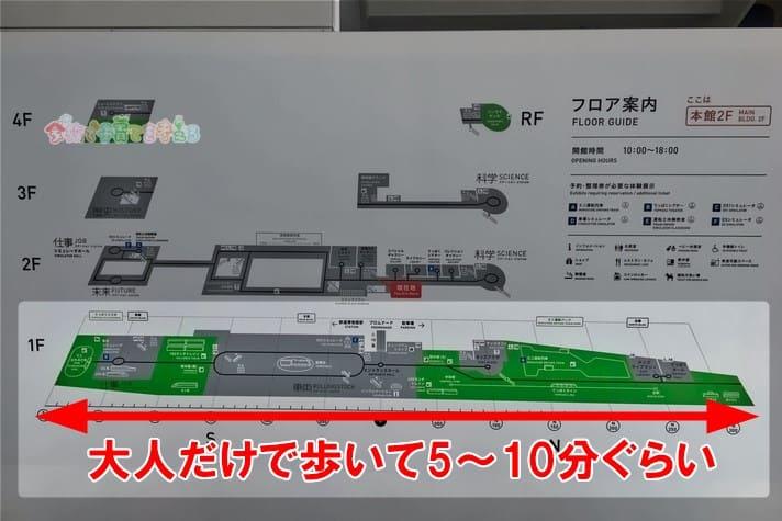 鉄道博物館(大宮)の館内フロアマップ