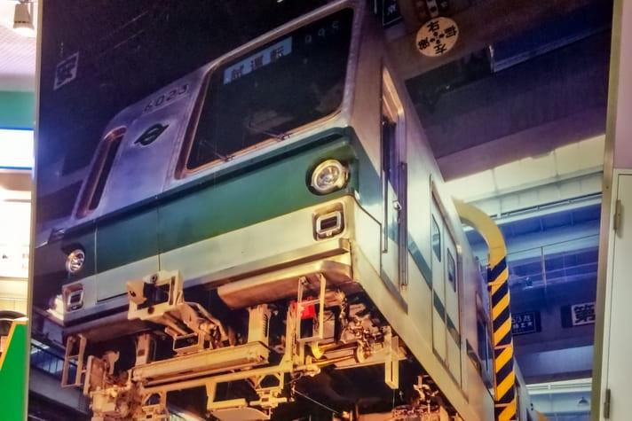 地下鉄博物館(ちかはく)電車の仕組み