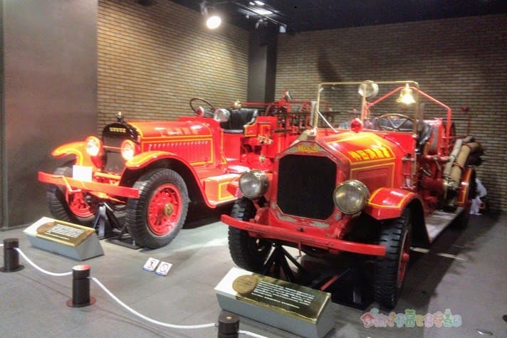 消防博物館の消防車