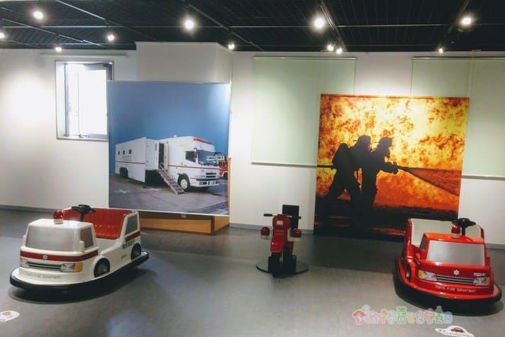 消防博物館のフロア