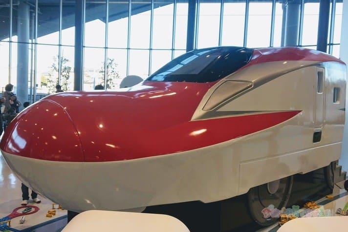 鉄道博物館(大宮)プラレールゾーンの新幹線こまち