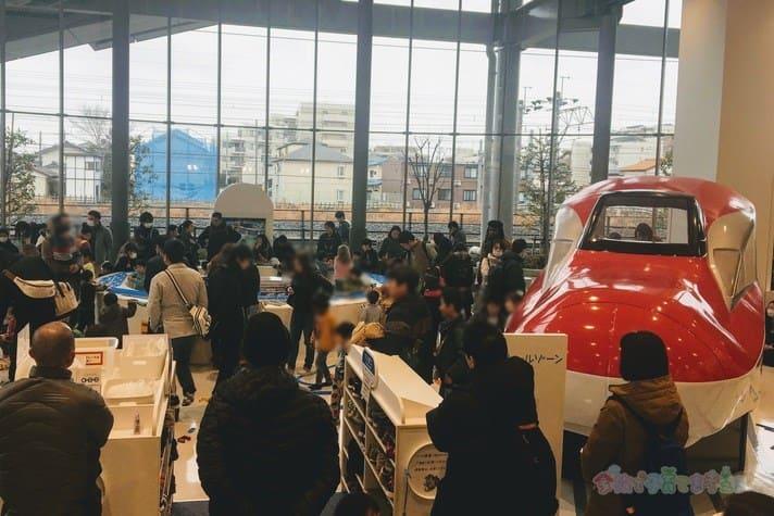 鉄道博物館(大宮)キッズプラザのプラレールゾーン