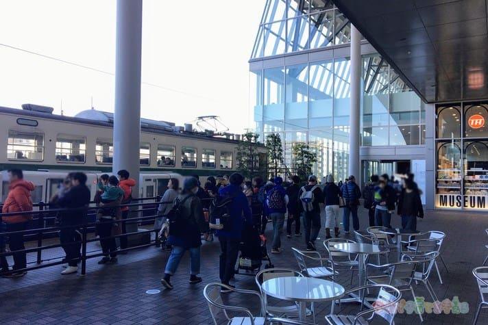 鉄道博物館(大宮)の混雑土日