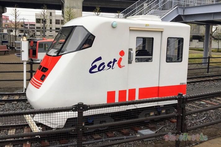 鉄道博物館(大宮)ミニ運転列車