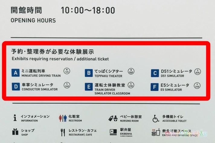 鉄道博物館(大宮)予約・整理券が必要な体験展示