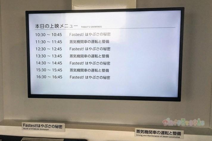 鉄道博物館(大宮)てっぱくシアター