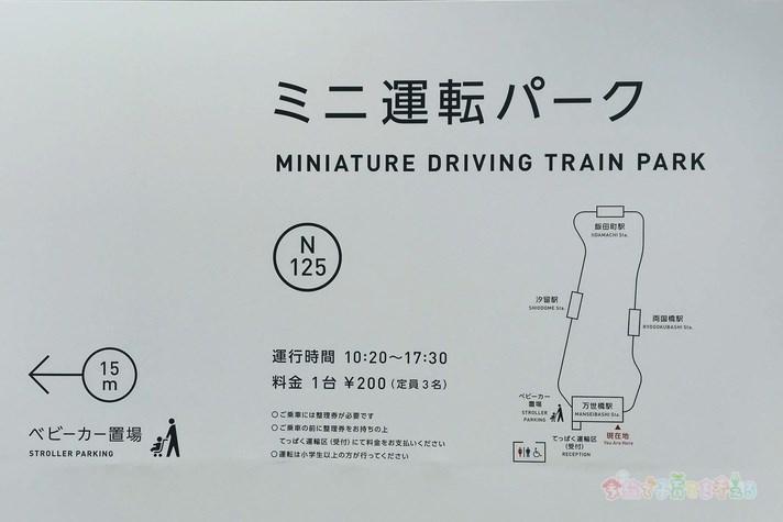 鉄道博物館(大宮)ミニ運転パークの概要