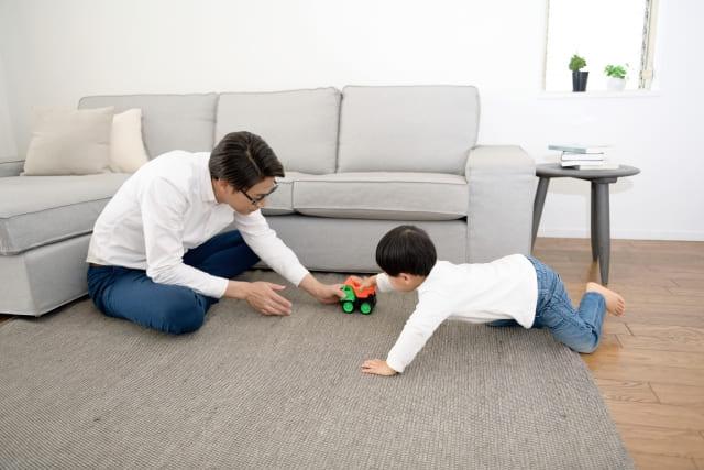 子どもと過ごす時間を増やす